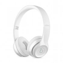 Sluchátka Beats Solo3 Wireless na uši – leskle bílá mnep2zm/a