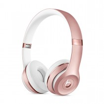 Sluchátka Beats Solo3 Wireless na uši – růžovo zlatá mnet2zm/a