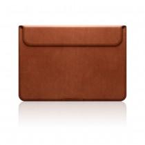 "SLG Design - D5 CAL, hnědé kožené pouzdro pro Macbook 12"""