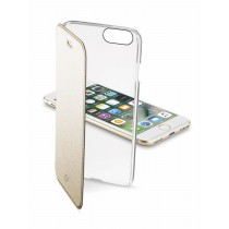 CellularLine ClearBook -  Apple iPhone 7, gold