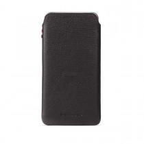 Decoded kožené pouzdro s páskem pro iPhone 6/6s Plus - černé