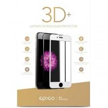 EPICO GLASS 3D+ tvrzené ochranné sklo pro iPhone 6/7 - bílé
