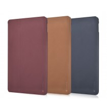 Comma Elegant Series, kožený kryt pro iPad, červený