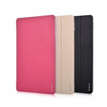 Devia Light Grace, kožený kryt pro iPad, růžový