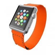 Incipio Jacquard Stitch Band, oranžový pásek pro Apple Watch 38mm