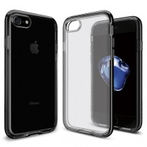 Spigen Neo Hybrid Crystal - tenký kryt pro iPhone 7, temně černý