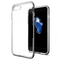 Spigen Neo Hybrid Crystal - tenký kryt pro iPhone 7 Plus, šedý
