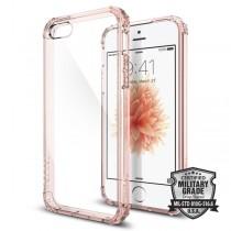 Spigen Crystal Shell - tenký kryt pro iPhone SE / 5s / 5 - růžově zlatý