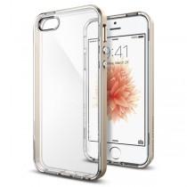 Spigen Neo Hybrid Crystal - tenký kryt pro iPhone SE / 5s / 5 - zlatý