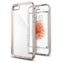 Spigen Neo Hybrid Crystal - tenký kryt pro iPhone SE / 5s / 5 - růžově zlatý