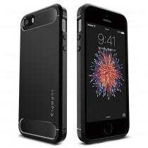 Spigen Rugged Armor pro iPhone SE / 5s / 5 – černý