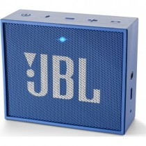 JBL GO - modrý přenosný Bluetooth reproduktor