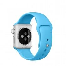 Apple 38mm modrý sportovní řemínek