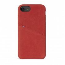 Decoded zadní kožený kryt pro iPhone 7 - červený