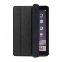 Decoded Slim Cover, kožené pouzdro pro iPad 2017 / iPad Air 2, černé
