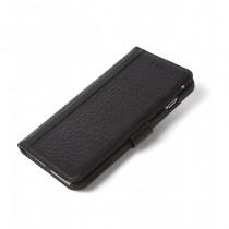Decoded kožené pouzdro s magnetickým zapínáním, iPhone 7 Plus - černé