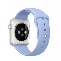 Apple 42mm šeříkově modrý sportovní řemínek