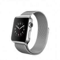 Apple Watch - 38mm pouzdro z nerezové oceli s milánským tahem (servisované, záruka 6 měsíců)