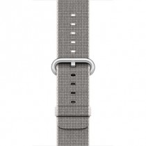 Apple 42mm perlově šedý řemínek z tkaného nylonu