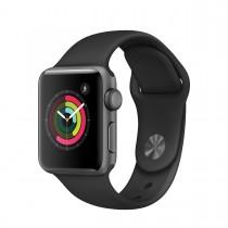 Apple Watch Series 2 - 38mm pouzdro z vesmírně šedého hliníku – černý sportovní řemínek (rozbalené, záruka a odpovědnost z vad 12 měsíců)