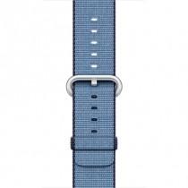 Apple - 38mm Navy modrý / azurový řemínek z tkaného nylonu