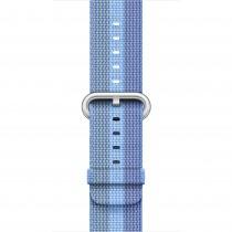 Apple - 38mm azurový řemínek z tkaného nylonu