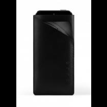 Mujjo Slim Fit Wallet, kožené pouzdro pro iPhone 5/5s, černé