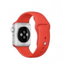 Apple 42mm oranžový sportovní řemínek