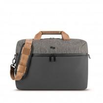 """Solo Frequency Briefcase - taška pro 15.6"""" Macbook/laptop - černá/šedá"""