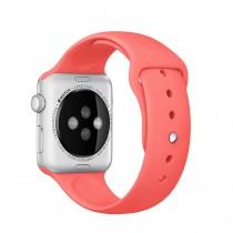 Apple 42mm růžový sportovní řemínek