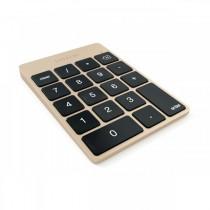 SATECHI Keypad, hliníková numerická klávesnice - zlatá