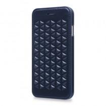 Still Sierra, modré kožené pouzdro pro iPhone 6 / 6s