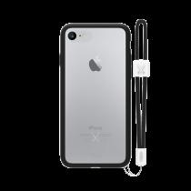 PHILO slim, ultra tenké bumper pouzdro pro iPhone 7, černé