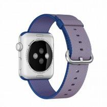 Apple 42mm královsky modrý řemínek z tkaného nylonu