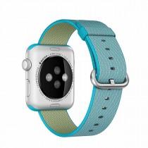 Apple 42mm podmořsky modrý řemínek z tkaného nylonu