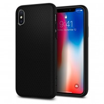 Kryt na iPhone X Spigen Liquid Air - černý