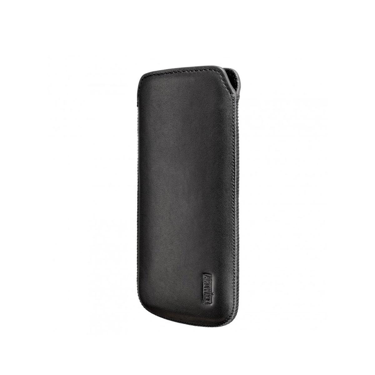 Artwizz - Leather Pouch iPhone 5/5s/5c becsúsztatós bőrtok - fekete