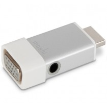 Moshi - HDMI-VGA adapter Audio csatlakozóval - Ezüst