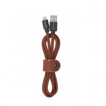 Decoded - Bőr Lightning USB kábel (1,2m)