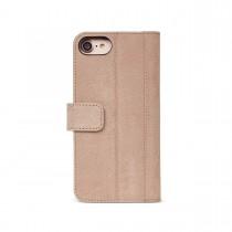 Decoded 2 az 1-ben bőr Wallet Case eltávolítható hátlappal iPhone 6/6s/7-hez - Bézs