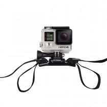 GoPro sisakra erősíthető pántos állvány