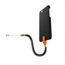 Kenu - Highline iPhone 6/6s tok narancssárga biztonsági szíjjal