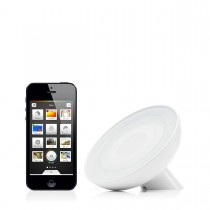 Philips - Hue Bloom asztali lámpa, LED, fehér