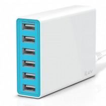 iLuv 10A Hordozható hálózati töltő - Fehér