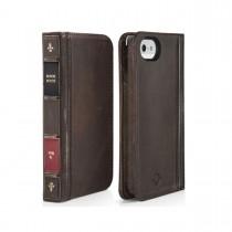 TwelveSouth - BookBook iPhone SE/5/5S tok - Barna