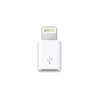 Adaptér s konektorom mikro USB a konektorom Lightning