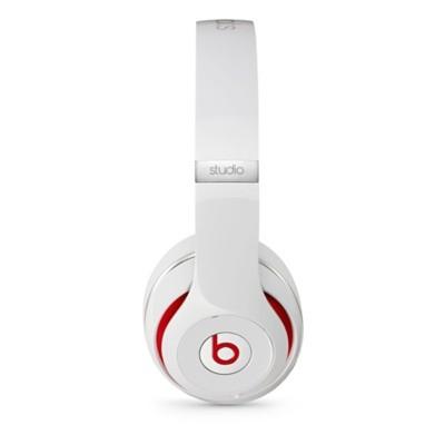 Beats by Dr. Dre - Studio 2.0 - slúchadlá na uši - biele mh7e2zm/a
