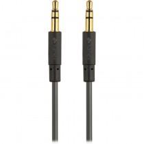 Kanex 3.5mm AUX, prepojovací audio kábel - 1.8m, čierny