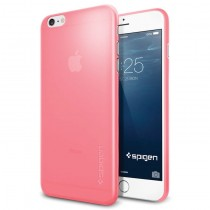 Spigen Air Skin case for iPhone 6 Plus - Azalea Pink
