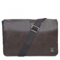 "Knomo KINSALE Cross Body taška na MacBook Air/Pro 13"" - hnedá"